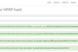 什么是HTTP公钥固定(HPKP)以及如何添加此功能。