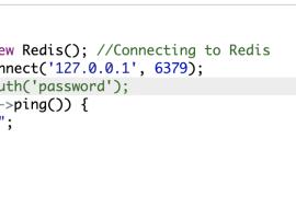 Redis测试PHP代码